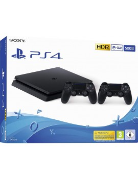 Console PS4 Slim 500GB + 2...
