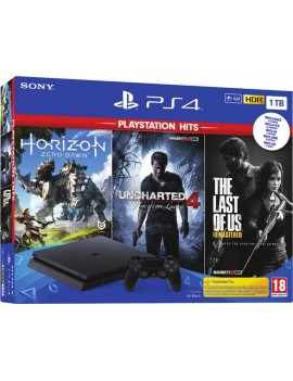 Console PS4 1TB + Uncharted...