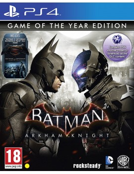 Batman: Arkham Knight GOTY PS4