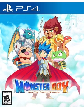 Monster Boy and the Cursed...