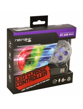 Controller SNES LED CLASSIC...